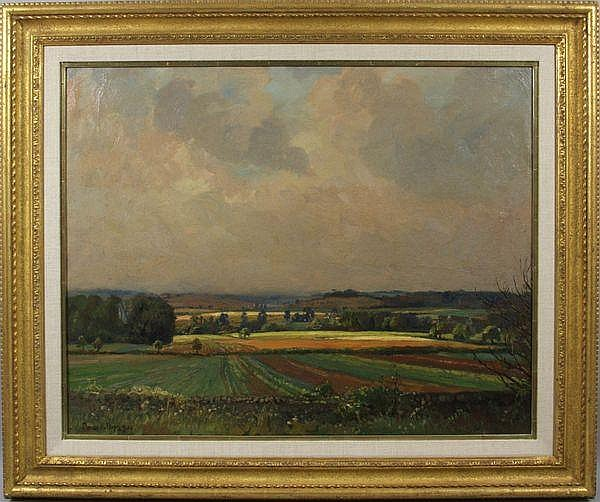 Donald H. Floyd (1892-1965), 'Fields and Sky',