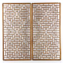 Pr. Chinese Carved Window Screens
