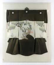 Girls' Framed Kimono