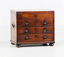 18th C. English Gentleman's Chest