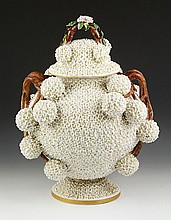 19th C. Meissen Porcelain Lidded Jar
