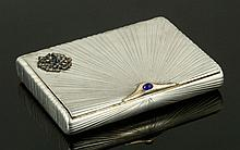 Russian Faberge Cigarette Case