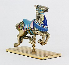 Tiffany & Co. Sterling Carousel Horse