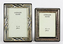 Lot of Two Godinger Sterling Frames