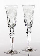 Varga Crystal Champagne Stemware