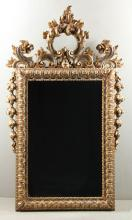 Italian Carved Giltwood Mirror
