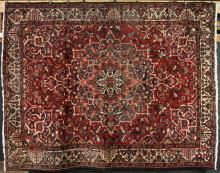 Antique Persian Bibikabad Carpet