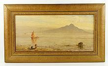 Elwell, View of Mount Vesuvius, O/C