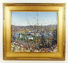 Curtis, Fall Landscape, O/C