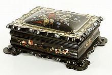 19th C. Edwardian Inlaid Box
