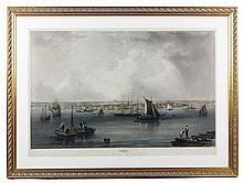 Mottram, Boston Harbor, Engraving