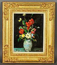 Leroy Schouten, Floral Still Life