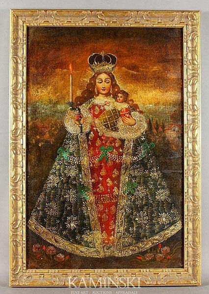 20th C. Version of Spanish School Painting