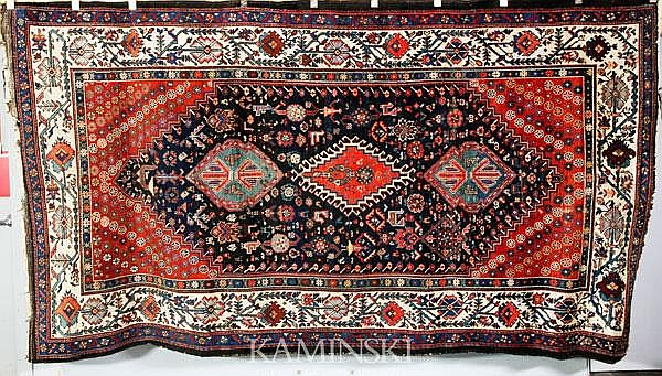 Fine Antique Persian Hall Rug