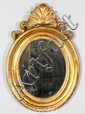 Louis XV Oval Mirror