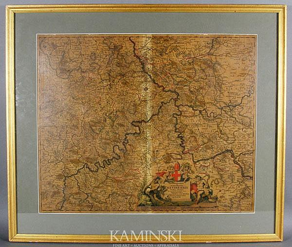 Engraved Map