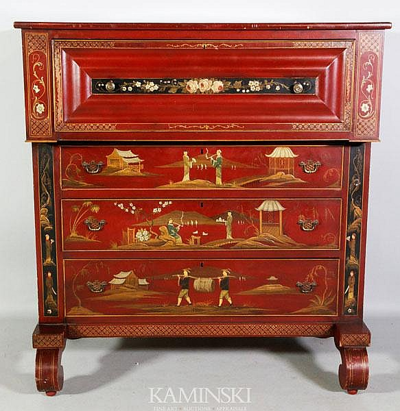 Chinoiserie Empire Chest