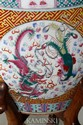 Large Chinese Porcelain Fish Bowl