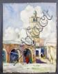 Putnam Browne, Minaret in Africa, W/C