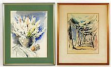 Gurewitsch, 2 Watercolors and a Still Life