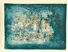 Zao Wou-Ki, Abstract, Lithograph
