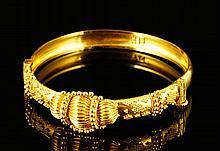 22K Yellow Gold Bracelet