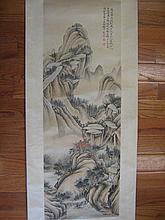 Wu Hujan, Chinese Watercolor Painting