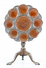 Early English Tilt Top Tea Table