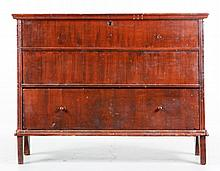 18th C. New England Chest