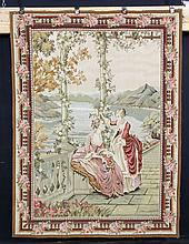 19th/ 20th C. French Aubusson Tapestry