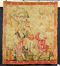 20th C. French Aubusson Tapestry