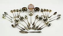 Collection of French and Russian Silver