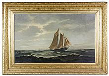 Fuller, 19th C. Ship Painting, O/C