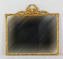 19th C. French Gilt Mirror