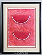 Tamayo, Watermelon, Signed Poster