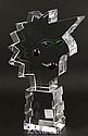Orrefors Crystal Profile Sculpture