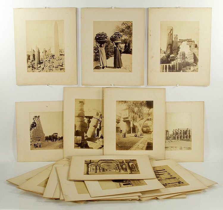 31 Albumen Photographs