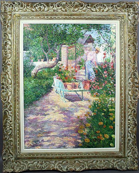 Mariquita Gill (American, 1861-1915), The Artist's