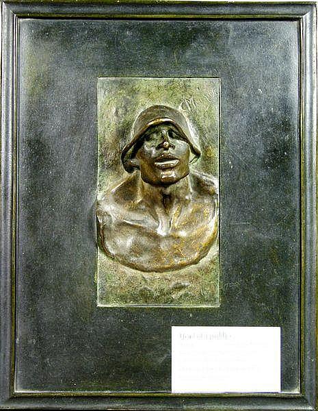Constantin Meunier (Belgian, 1831-1905), Head of a
