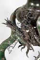 19th C. Chinese Bronze Dragon Lamp