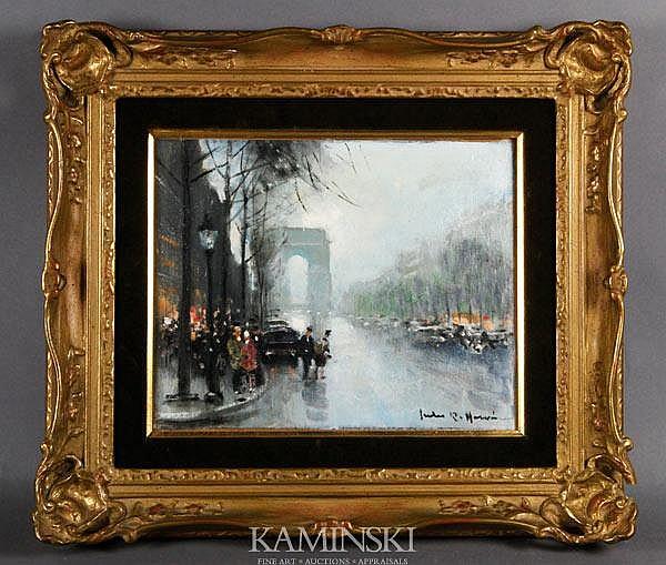 Herve, Paris Scene, O/B