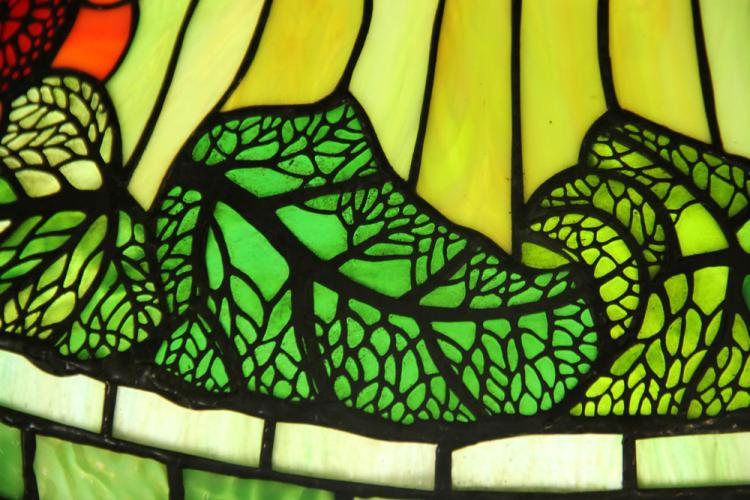 tiffany style stained glass hanging lamp shade. Black Bedroom Furniture Sets. Home Design Ideas