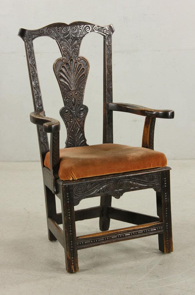 18th to 19th c english wainscot armchair On kaminski furniture