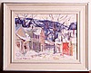 Carpenter, Winter Scene, O/B, George Carpenter, Click for value
