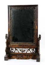 Chinese Mirror on Stand