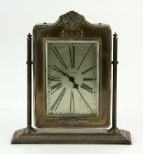 Reed & Barton Sterling Dresser Clock