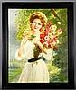 Vuillard, Lady with Flowers, O/P, George Vuillard, Click for value