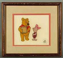 20th C. Winnie The Pooh Animation Cel