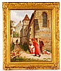 Children Playing, O/B, Joseph-Athanase Aufray, Click for value