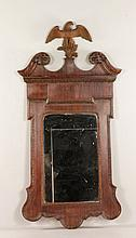 Late 19th C. American Mahogany Mirror